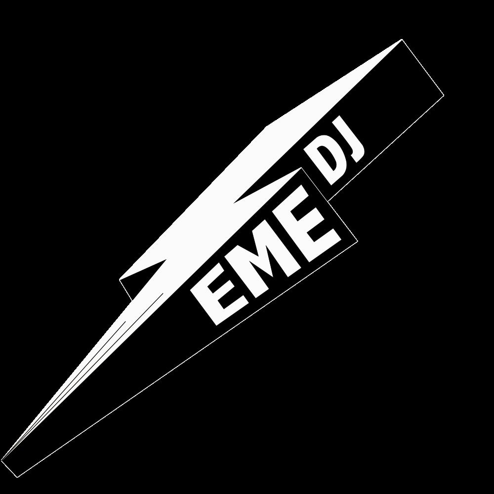 Logo EME DJ negro
